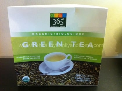 365 Brand Organic Green Tea | The Healthy Family and Home