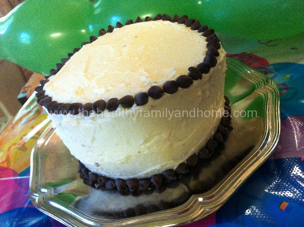Vegan Birthday Cake Images : Vegan Chocolate Birthday Cake The Healthy Family and Home
