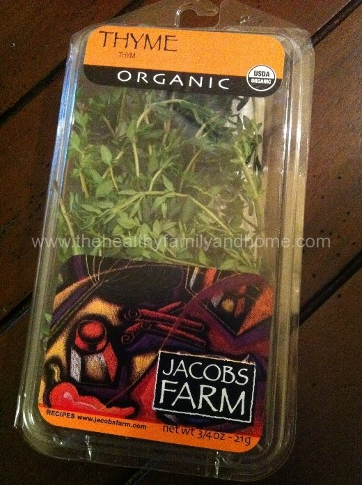 Organic-Thyme