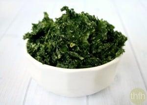 Jalapeno Kale Chips (Raw, Vegan, Gluten-Free, Dairy-Free, Paleo-Friendly)