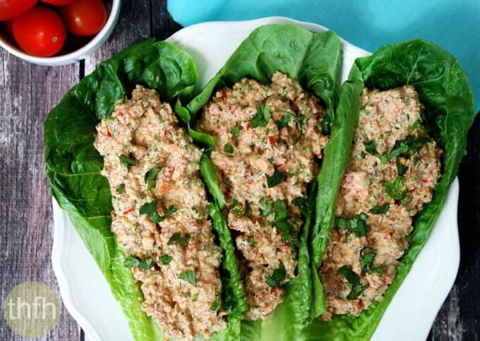 "Raw Mock ""Chicken"" Salad (Raw, Vegan, Gluten-Free, Dairy-Free, Paleo-Friendly)"