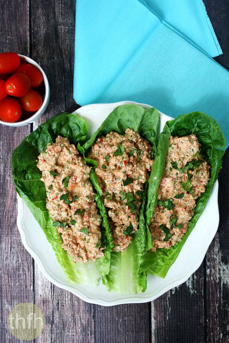 "Raw Mock ""Chicken"" Salad 