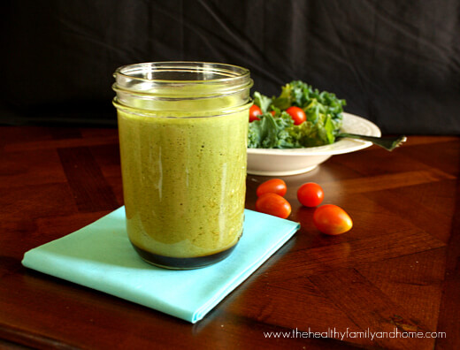 "Poor Man's Version of ""Green Dragon Dressing"" (Raw, Vegan, Gluten-Free, Dairy-Free)"