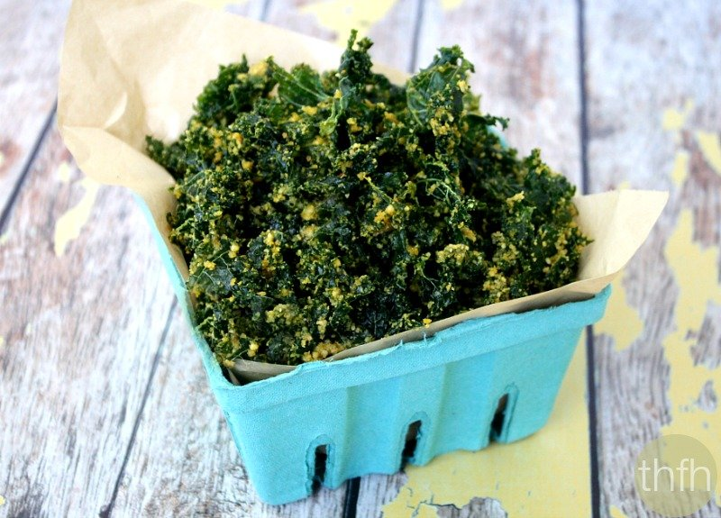 Cheesy (Cheezy) Raw Kale Chips - Raw, Vegan, Gluten-Free, Dairy-Free, Paleo-Friendly | The Healthy Family and Home