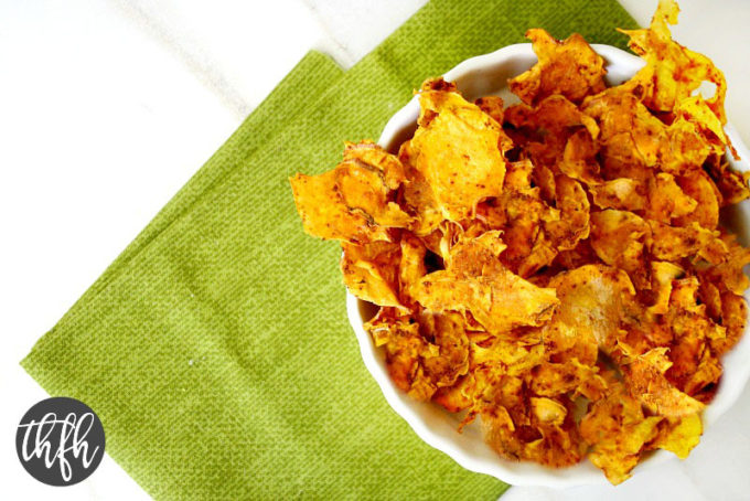 Dehydrator Sweet Potato Chips (Raw, Vegan, Gluten-Free, Dairy-Free, No-Bake)