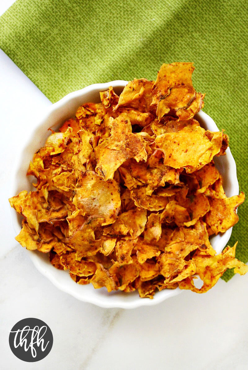 Dehydrator Sweet Potato Chips | The Healthy Family and Home