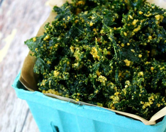 Cheezy Raw Kale Chips