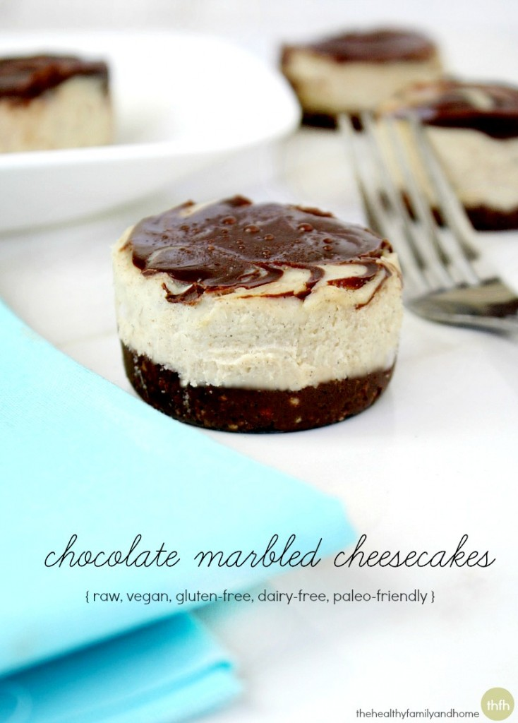 Chocolate-Marbled-Cheesecakes
