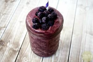 Acai Berry and Banana Immunity Smoothie