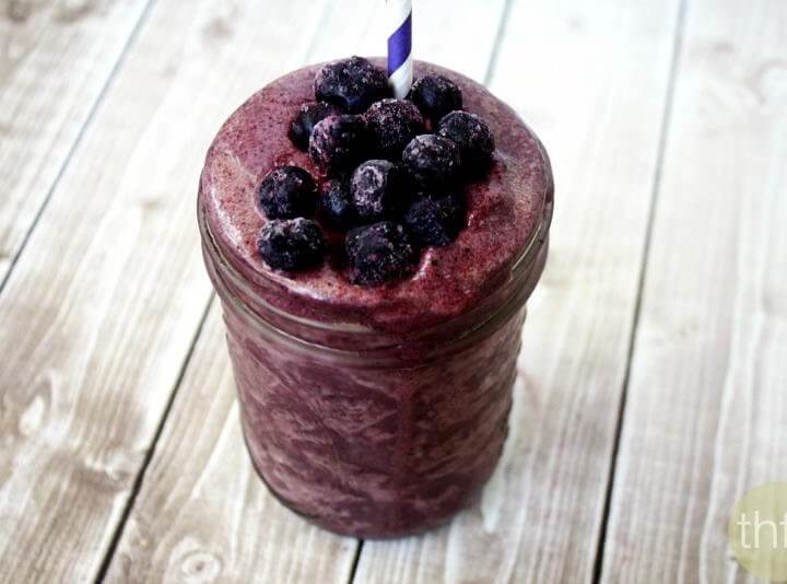 Acai Berry and Banana Immunity Smoothie