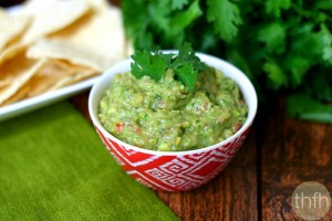 Classic Guacamole (Raw, Vegan, Gluten-Free, Dairy-Free, Paleo-Friendly)