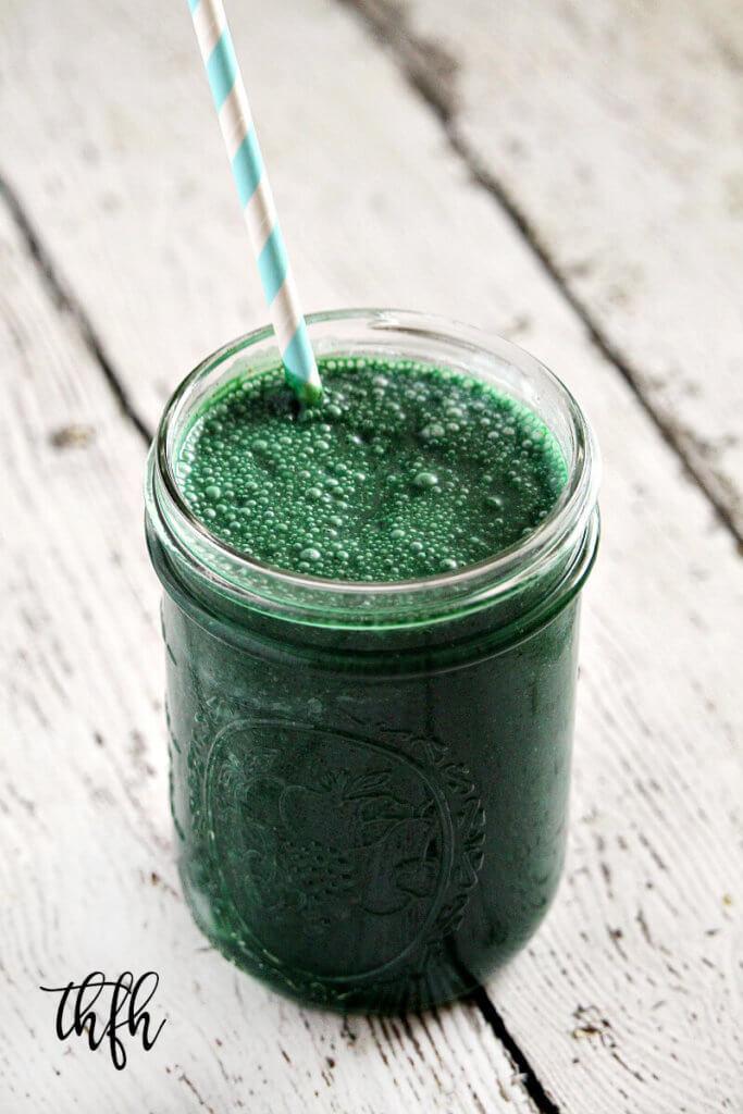 Vegan Spirulina And Hemp Protein Smoothie The Healthy