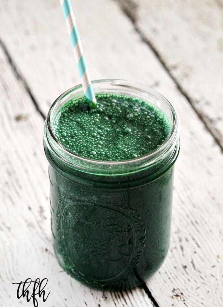 Spirulina and Hemp Protein Smoothie