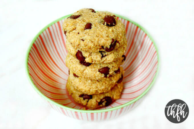 Vegan Gluten-Free Chocolate Chip Cookies (Vegan, Gluten-Free, Grain-Free, Flourless, Dairy-Free, Egg-Free, Paleo-Friendly, No Refined Sugar)