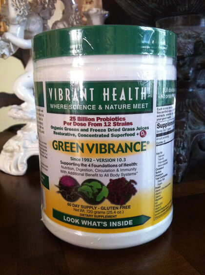 "Vibrant Health ""Green Vibrance"" Concentrated Superfoods"