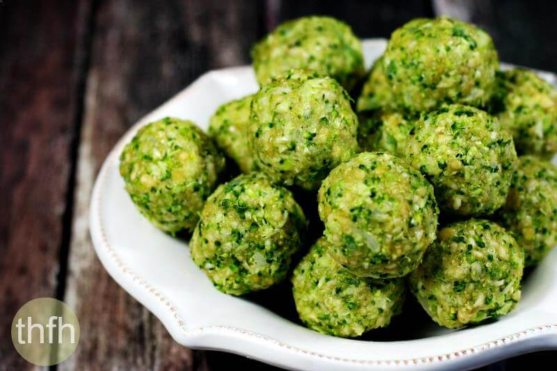 Clean Eating Raw Broccoli Balls | The Healthy Family and Home