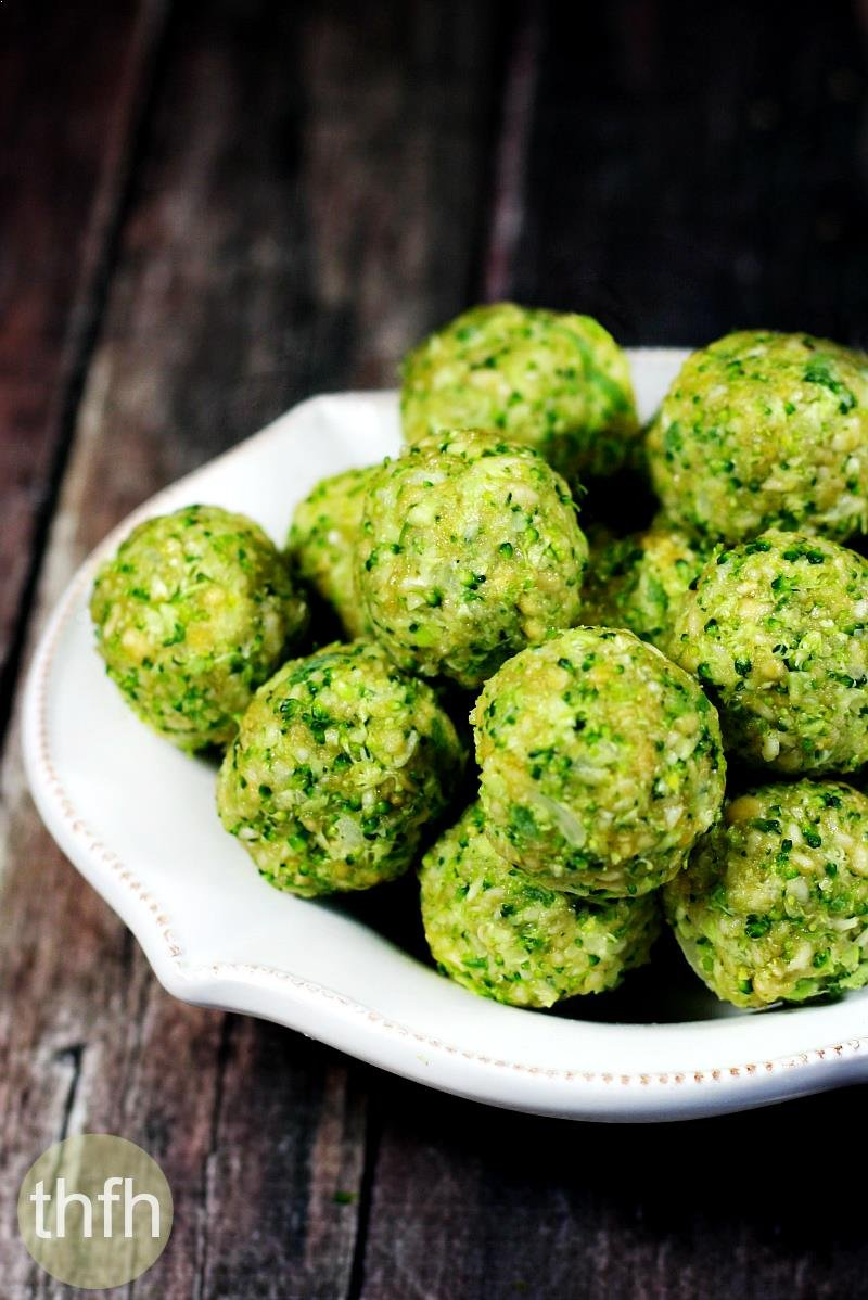 Raw Broccoli Balls