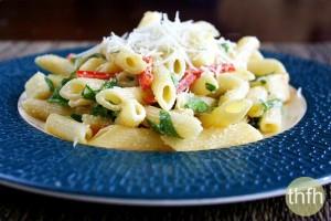Smoked Mozzarella Pasta Salad (Vegetarian, Gluten-Free)