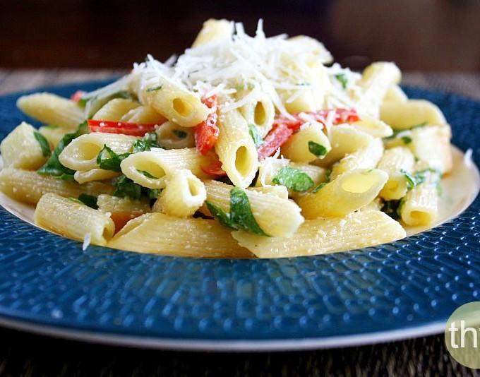 Smoked Mozzarella Pasta Salad