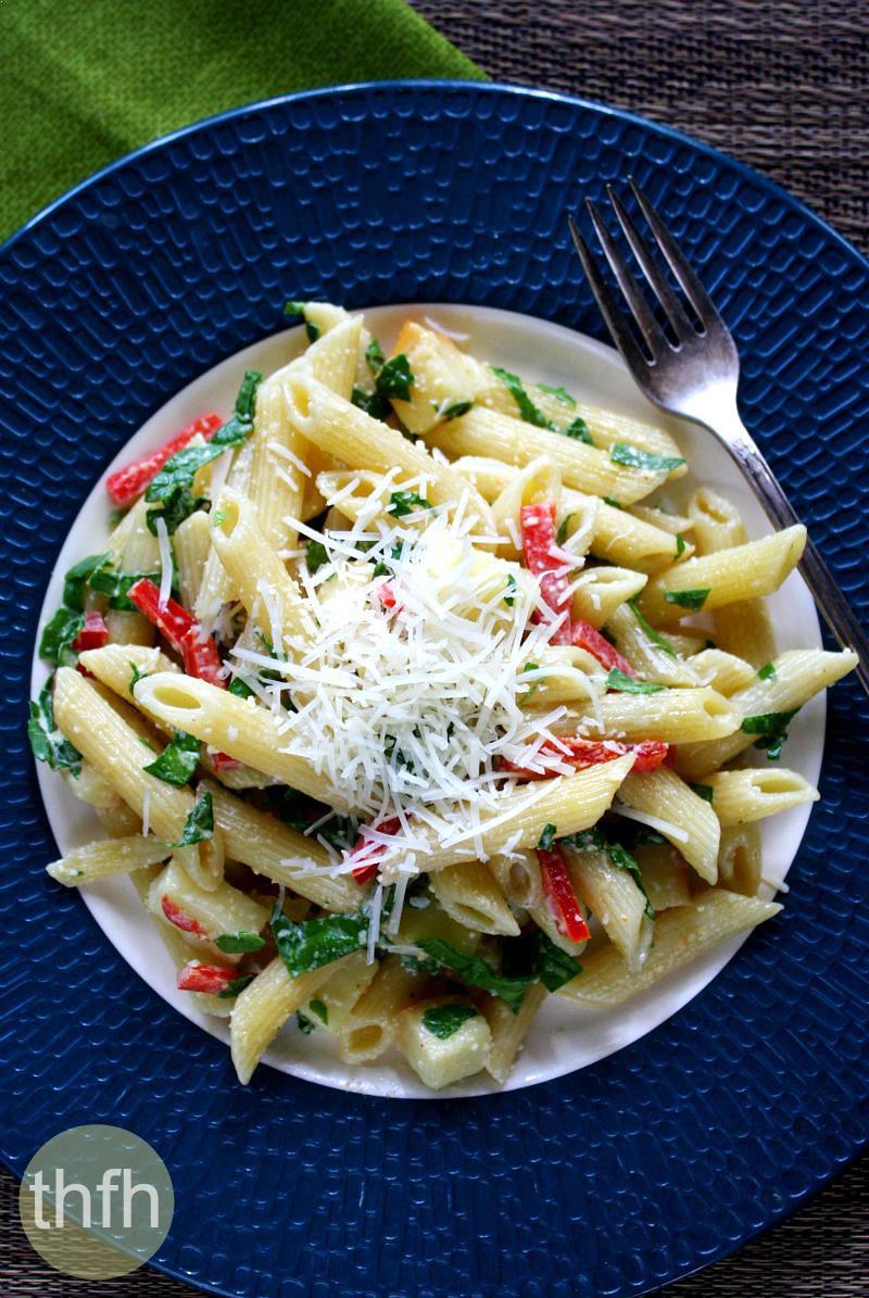 Smoked Mozzarella Pasta Salad | The Healthy Family and Home