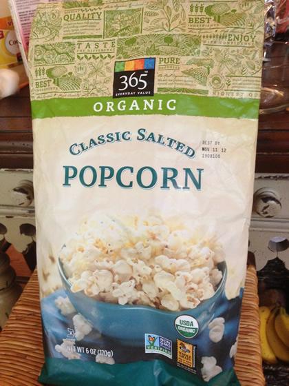 365 Brand Organic Classic Salted Popcorn