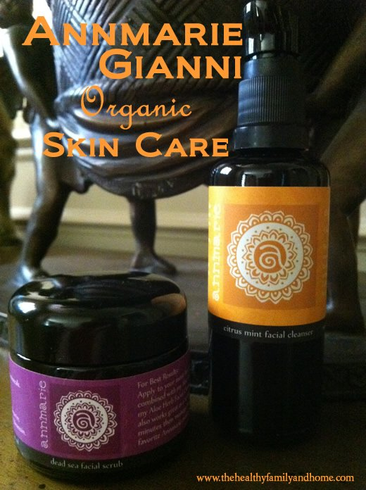 Annmarie Gianni Organic Skin Care Products