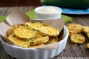 Vegan Oven Baked Zucchini Chips (Vegan, Gluten-Free, Grain-Free, Dairy-Free)
