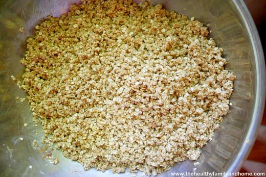Homemade-Peanut-Butter-Granola