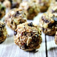 Nuttzo Chocolate Nut and Seed Balls | The Healthy Family and Home