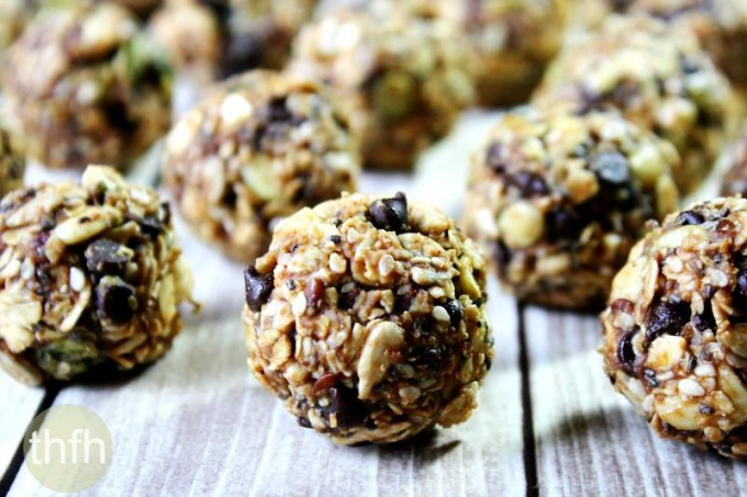 Nuttzo Chocolate Nut and Seed Balls (Vegan, Gluten-Free, Dairy-Free, No-Bake, No Refined Sugar)