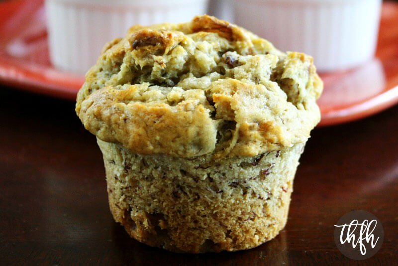 Vegan Banana Walnut Muffins | The Healthy Family and Home