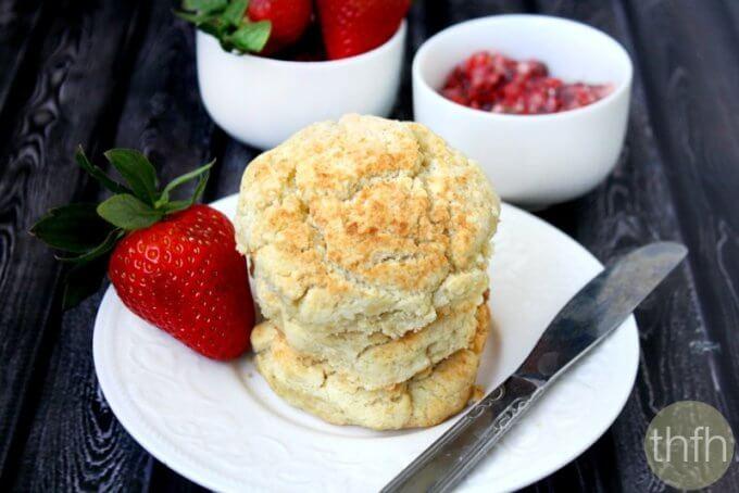 Vegan Coconut Oil Biscuits (Vegan, Dairy-Free, No Refined Sugar)