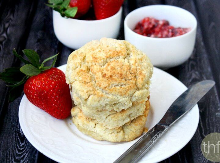 Vegan Coconut Oil Biscuits | The Healthy Family and Home