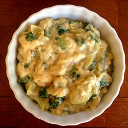 Vegan Kale and Artichoke Dip
