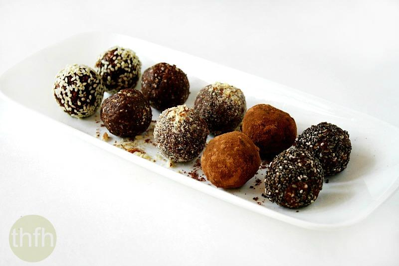 Crunchy Raw Protein Balls | The Healthy Family and Home