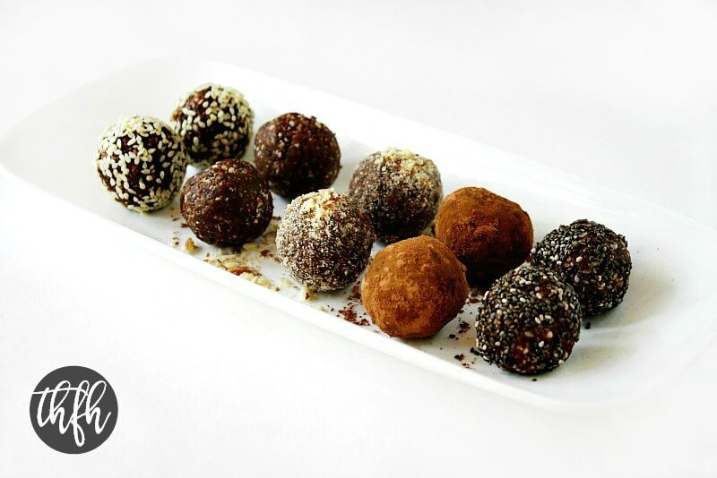 Crunchy Raw Vegan Protein Balls The Healthy Family And Home