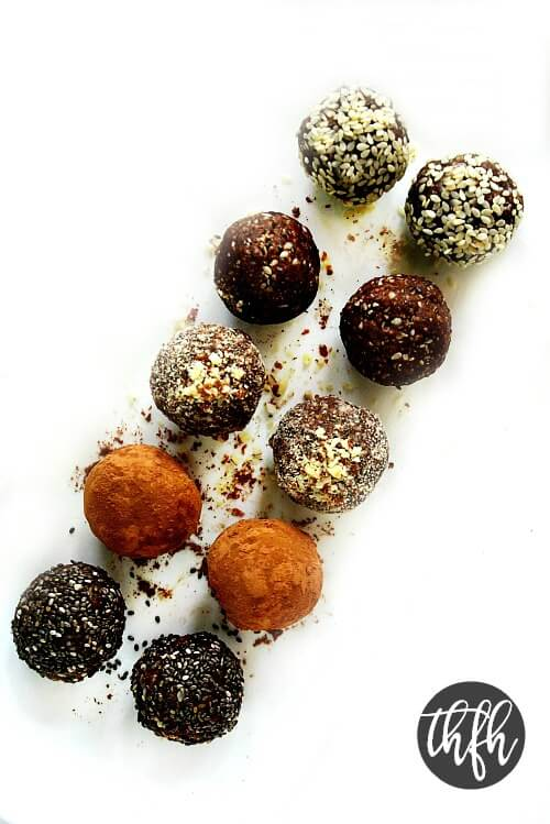 Crunchy Raw Vegan Protein Energy Balls The Healthy