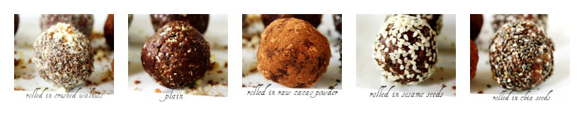Crunchy Raw Protein Balls   The Healthy Family and Home
