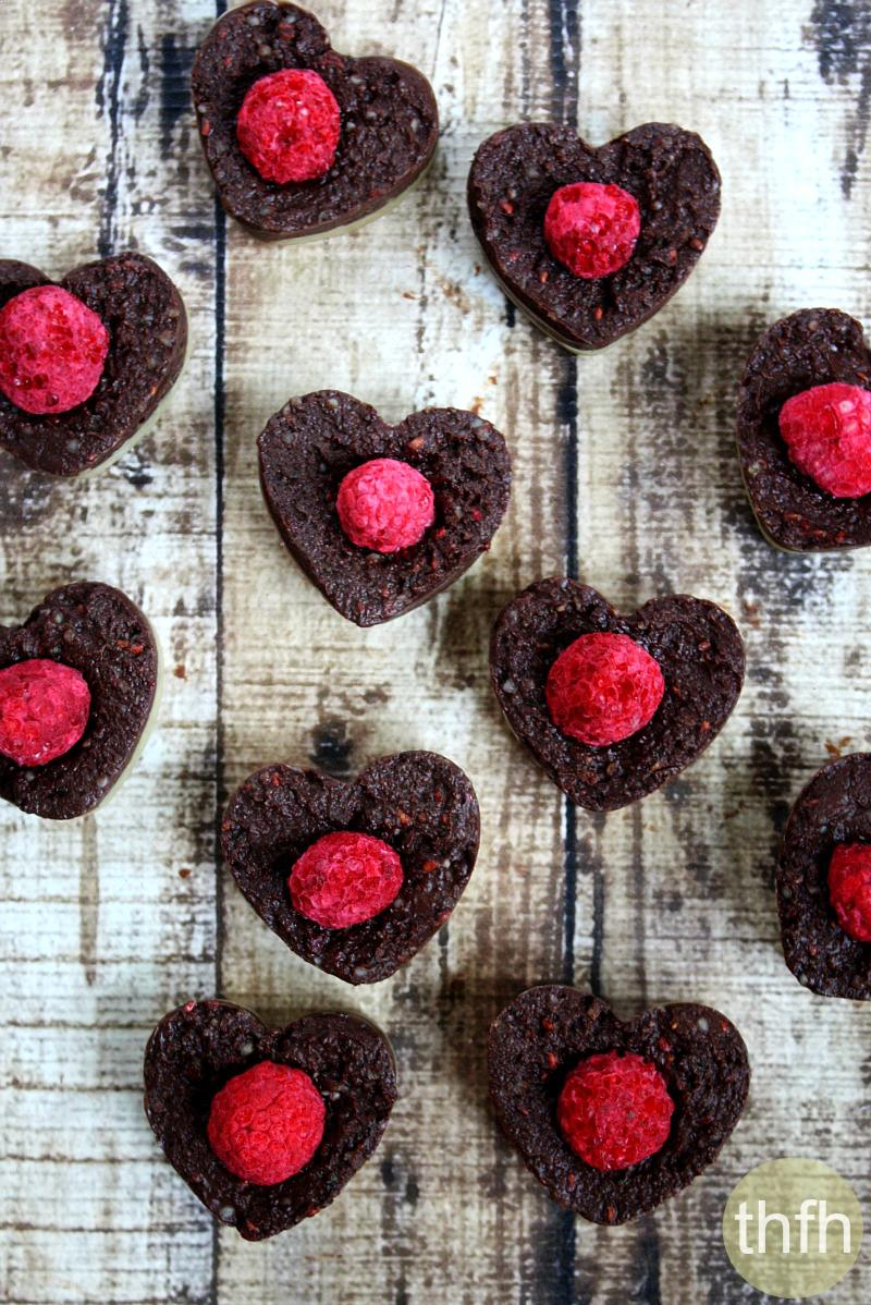 Raw Cacao and Raspberry Mousse Cakes | The Healthy Family and Home