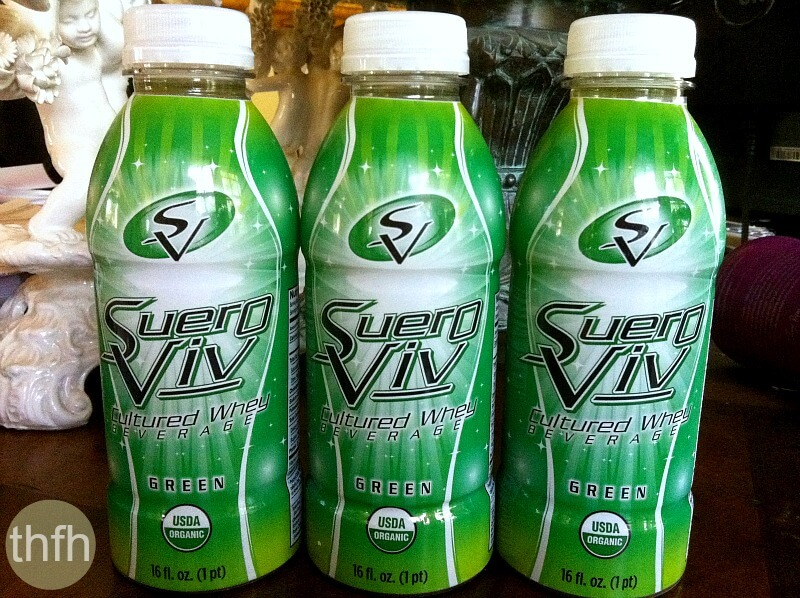 Suero Viv Cultured Whey Green Beverage by Beyond Organic | The Healthy Family and Home