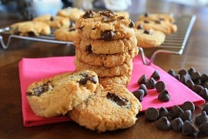Grain-Free Chocolate Chip Cookies (Vegan, Gluten-Free, Grain-Free, Dairy-Free)