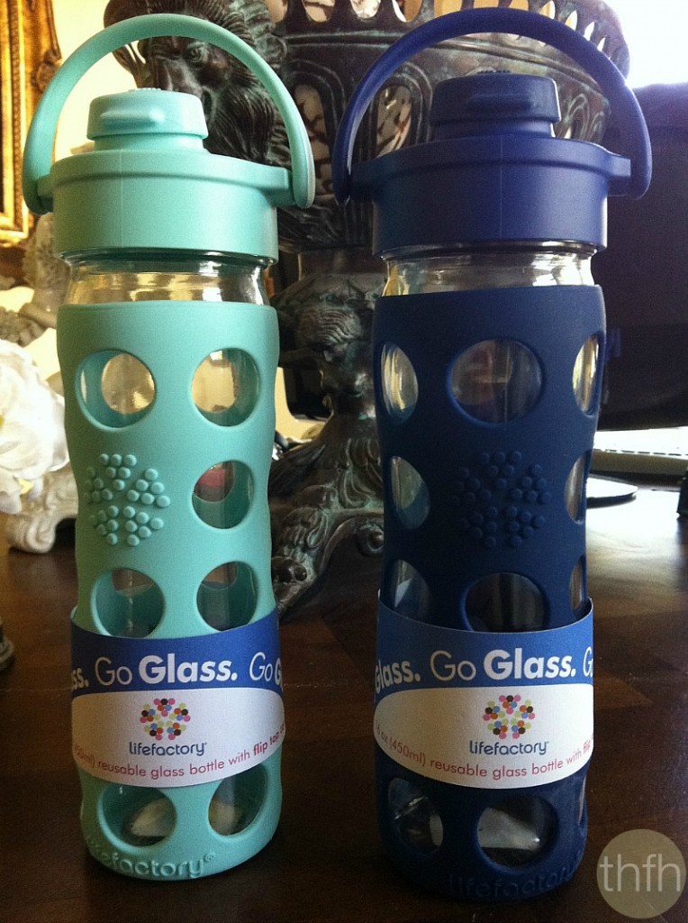Lifefactory Glass Water Bottles | The Healthy Family and Home