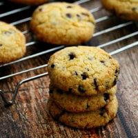 Grain-Free Vegan Chocolate Chip Cookies