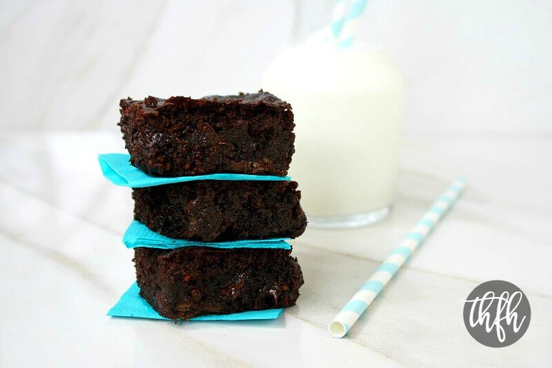 Gluten-Free Vegan Flourless Zucchini Brownies | The Healthy Family and Home