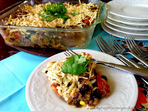Vegan-Southwestern-Quinoa-Bake