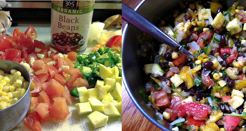 Step by step instructions of how to make Gluten-Free Vegan Southwest Quinoa Casserole Bake