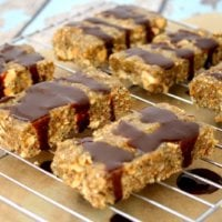 Raw Hemp Seed Bars with Cacao Drizzle   The Healthy Family and Home