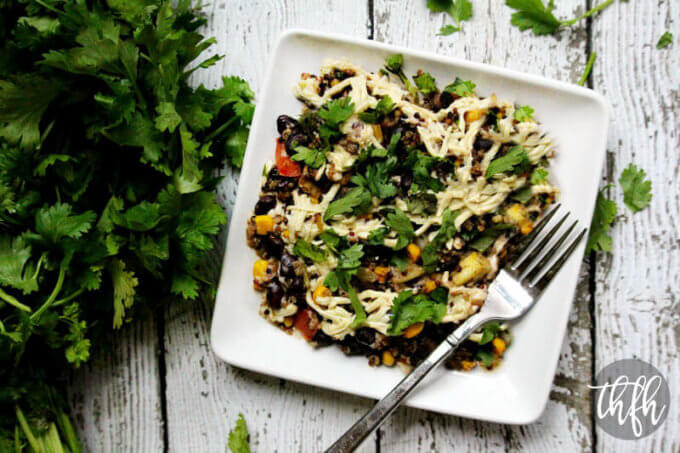 Vegan Southwest Quinoa Bake (Vegan, Gluten-Free, Dairy-Free, Soy-Free)