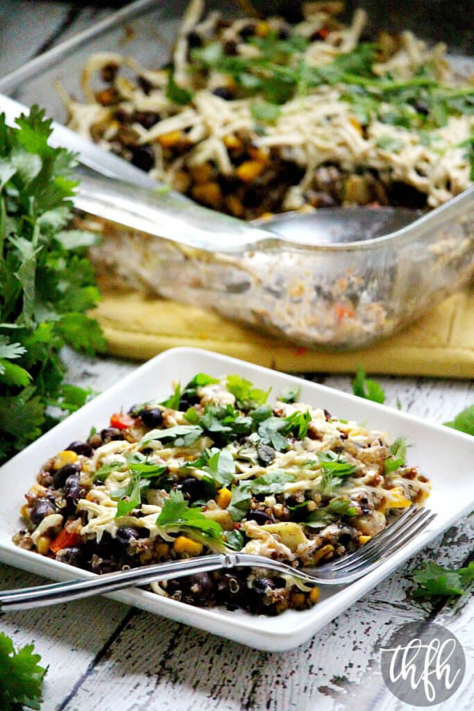 Vegan Southwest Quinoa Bake