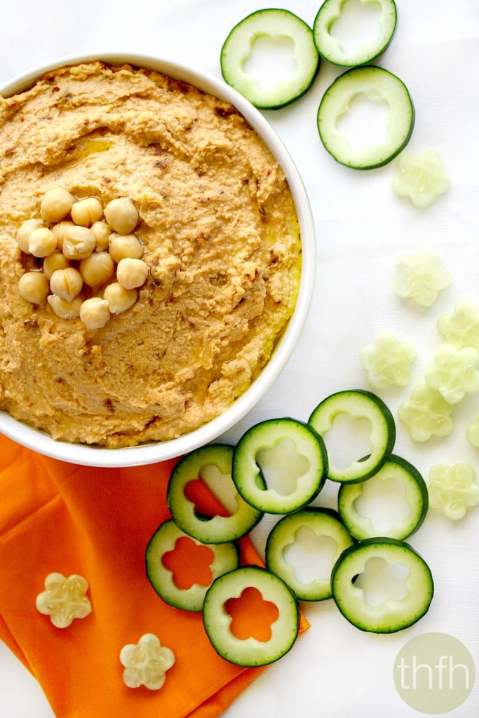 Vegan Sun-Dried Tomato Hummus | The Healthy Family and Home
